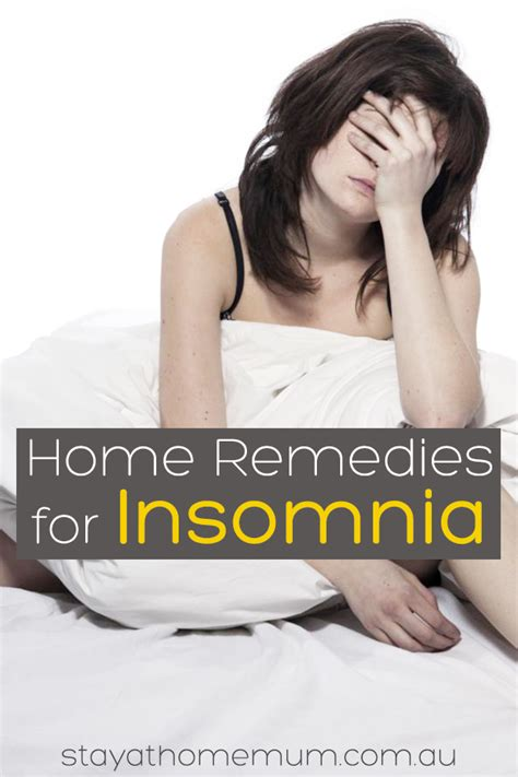 10 Home Remedies For Insomnia by 7 Home Remedies For Insomnia Stay At Home