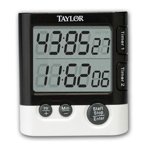 Kitchen Timer by 5828 Dual Event Digital Timer And Clock Ebay