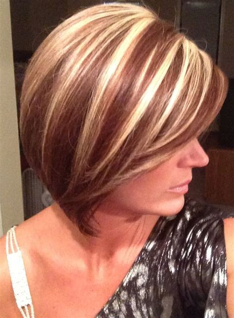 short hairstyles with chunky color foils best 25 short auburn hair ideas on pinterest