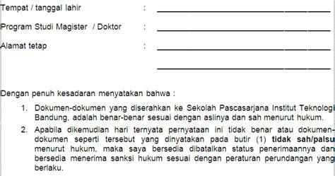 surat pernyataan valid benar contoh surat