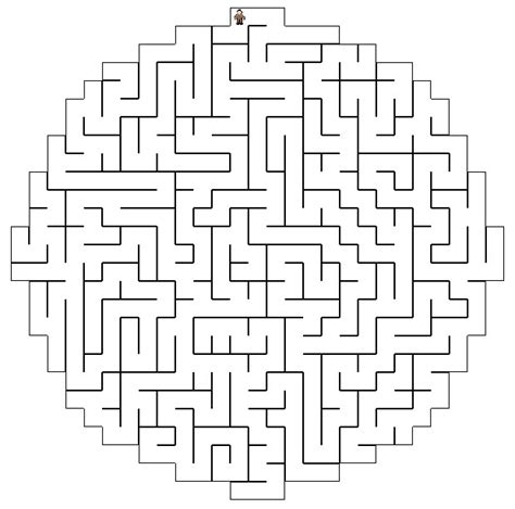 printable maze creator printable mazes freeology
