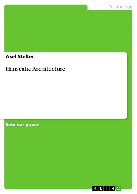 Ebook The Science Of Technical Analysis hanseatic architecture publish your master s thesis