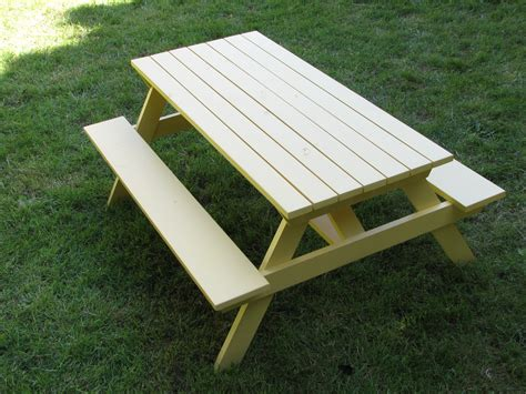 ana white preschool picnic table with alterations diy projects