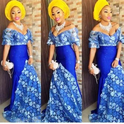 latest lace styles 2017 for owambe guests to blast fabulous aso ebi styles for your next owambe party
