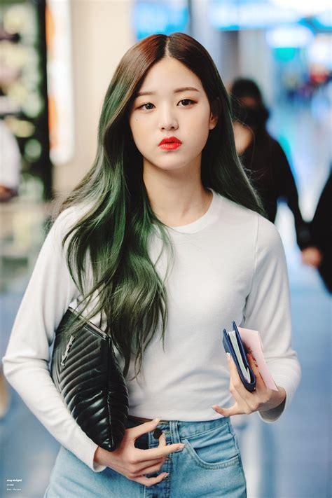 model  warna rambut wanita korea model terbaru