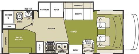 sunseeker motorhome floor plans 2004 forest river sunseeker le class c rvweb com