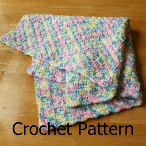 crochet pattern quick baby blanket crochet baby blanket pattern simple shell pattern easy