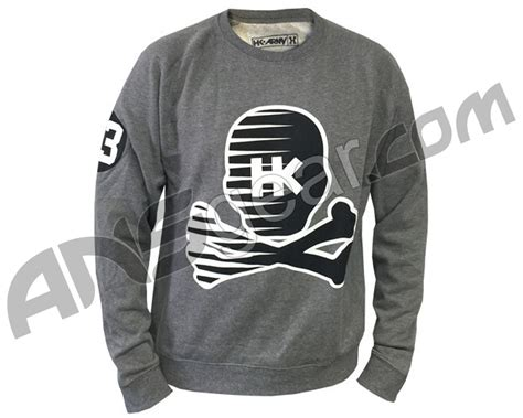 Sweater Chion comfortable customer he sported a grey crewneck sweater