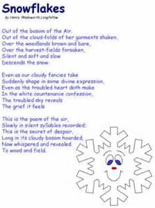 Legend of the snowflake poem poetry snowflake poems snowflakes
