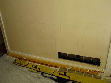 faux chair rail molding faux wainscoting applied moldings a concord carpenter