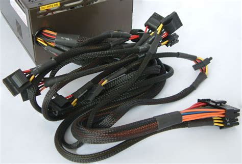 Kabel Power Cpu Nyk Quality cables and connectors thermaltake tr2 qfan series