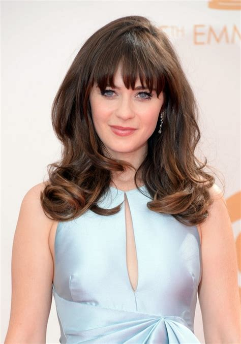 Zooey Deschanel Hairstyle by Zooey Deschanel Hairstyles Hairstyles 2016