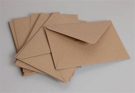 Kraft Gift Card Sleeves - c6 brown kraft envelopes pack of 50