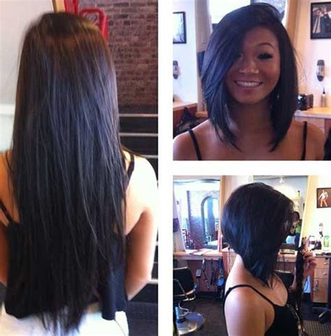 how to cut ur quick weave into layered stacked cyrls how to cut weave into stacked bob 25 inverted bob haircuts