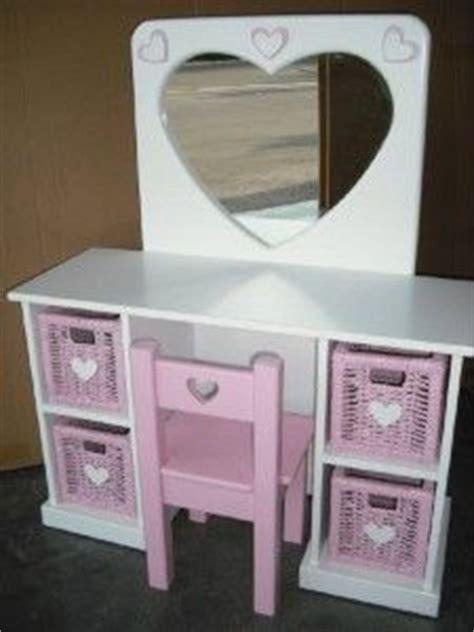 girls vanity table  chair table designs plans pinterest girls vanity vanity