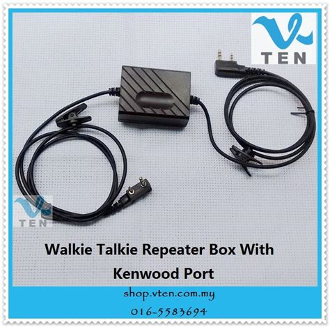 Ready Stock New Arrival Fossi By The Way 1757 2in1 diy repeater for walkie talkie two w end 8 22 2019 5 15 pm