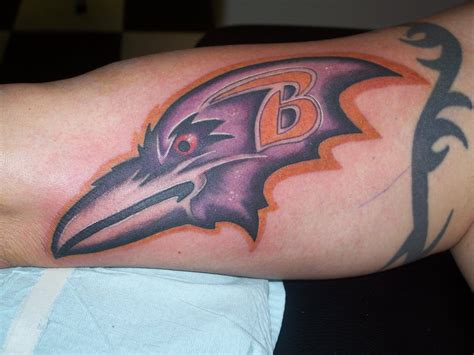 baltimore ravens tattoos baltimore ravens by tat2uyo on deviantart