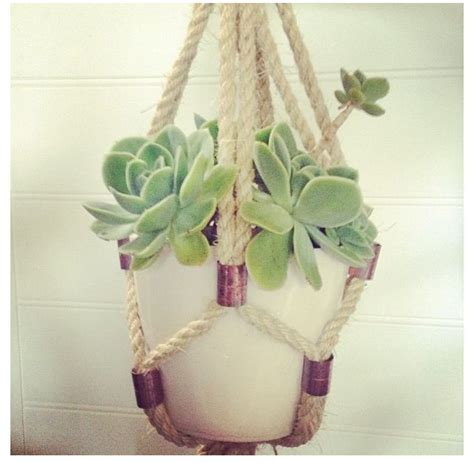 Macrame Plant Holder Tutorial - 282 best images about macrame knot pom pom on