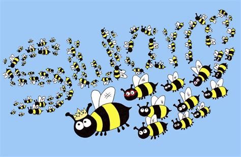 a swarm of bees settling on a roof is an omen that the