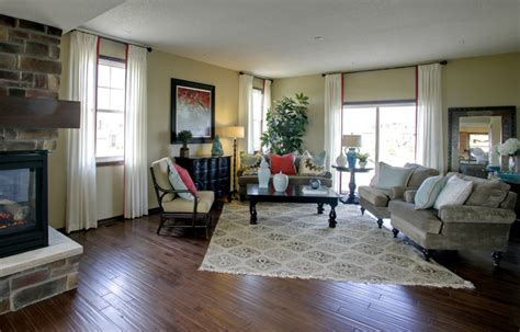 model home living rooms model home living room eclectic living room