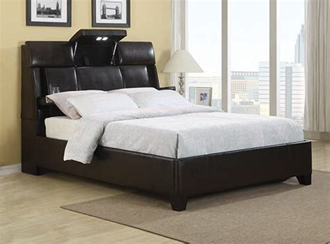 queen sized bed includes headboard  bluetooth