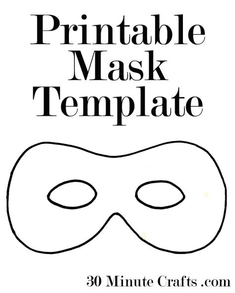 printable animal mask cutouts printable halloween mask templates a superhero mask