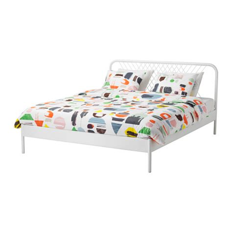 ikea double four poster bed frame and mattress in nesttun bed frame white l 246 nset standard king ikea