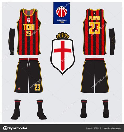 basketball jersey layout front and back basketball uniform or sport jersey shorts socks template