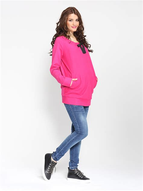 Jumper Emely amaranth emily jumper top my style maternity wear
