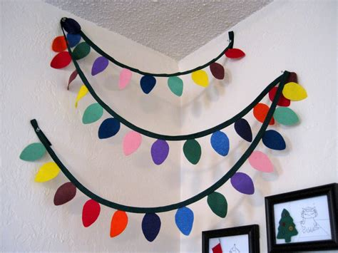 christmas decoration useing construction paper it s always something light garland