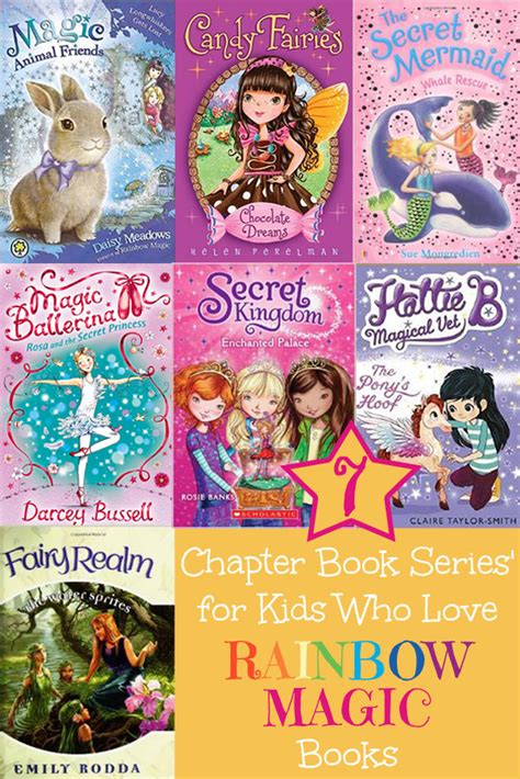 a new chapter books 7 book series for who rainbow magic childhood101