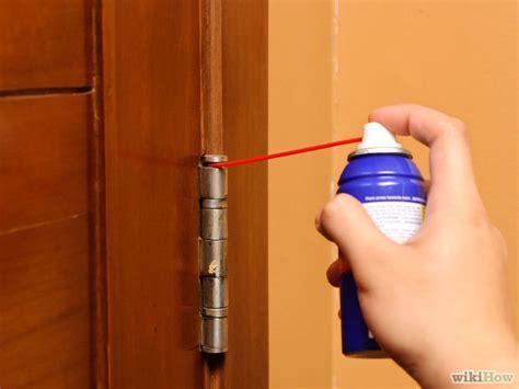 sliding glass door squeaks 3 ways to stop squeaky door hinges wikihow