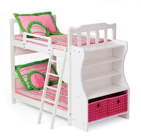 bunk beds for dolls doll s heart bunkbed your my twinn doll and her bff will