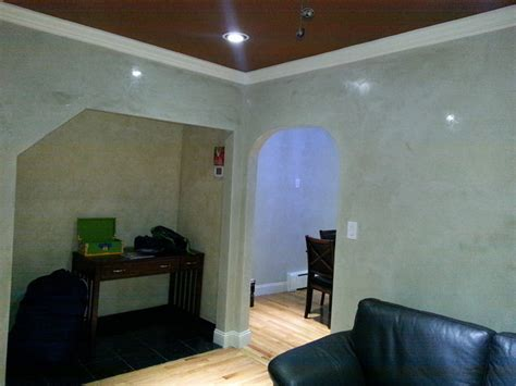 Venetian Living Room by Venetian Plaster Living Room New York By Mgpainting Corp