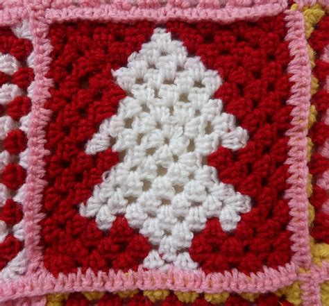 christmas tree granny square pattern pin by heather shinabarger on crochet motifs squares