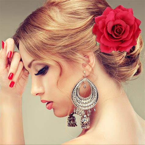 Wedding Hair Flowers Cheap by Popular Bridal Hairstyles Flowers Buy Cheap Bridal