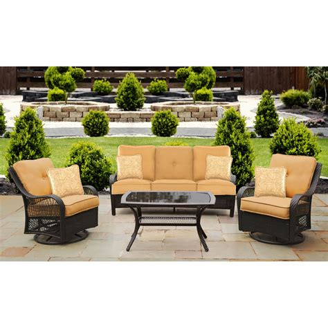 pensacola tan 4 pc outdoor living room set living room sets brown orleans 4pc seating set in sahara sand orleans4pcsw b tan
