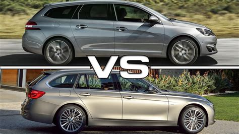 Bmw 3er 2018 Youtube by 2018 Peugeot 308 Sw Vs 2016 Bmw 3 Series Touring Youtube