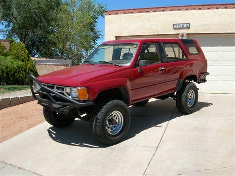 1986 Toyota 4runner For Sale 1986 Toyota 4runner Turbo Truestreetcars