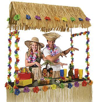 Tiki Bar Hut Table Topper tabletop tiki hut 55 quot x 22 quot x 56 quot each luau the o jays and kitchen windows