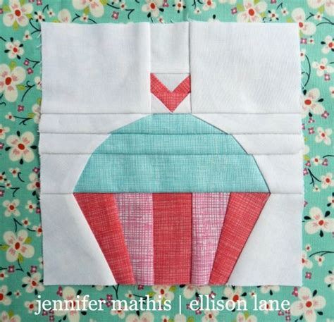Cupcake Quilt Block by 1000 Images About Free Paper Piecing Patterns On