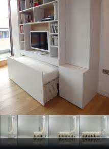 Accessories cool space saving ideas for small room using convertible