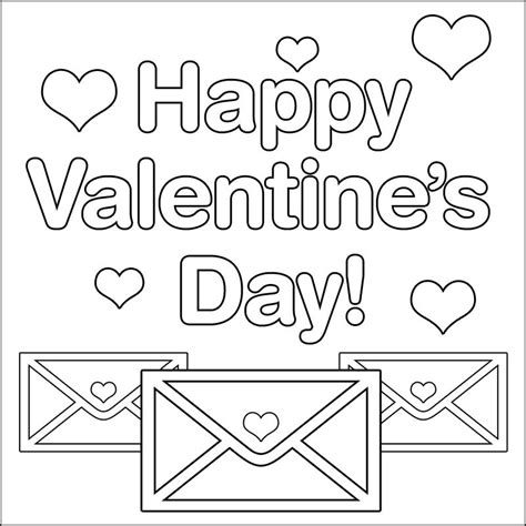 coloring page for s day valentines day coloring pages coloring pages
