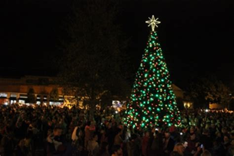 clayton christmas village and tree lighting dec 3 2015