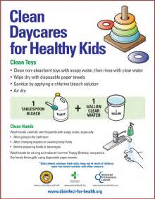 daycare safety disinfect for health