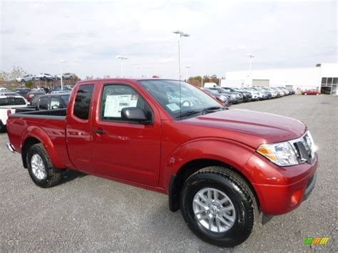 red nissan frontier 2017 lava red nissan frontier sv king cab 4x4 116898925