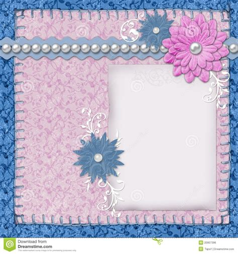 scrapbook template royalty free stock photo image 13847115