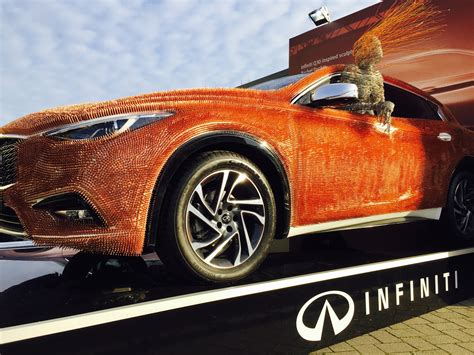 who makes infinity cars infiniti makes an impression at the fair with