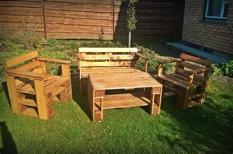 Pallet Patio Furniture Pallet Patio Furniture Diy And Crafts