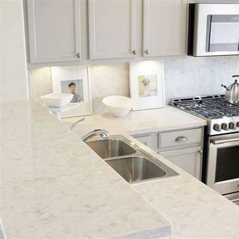 quartz countertops and backsplash 79 best images about viatera kitchens on